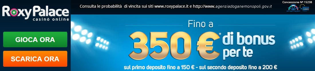 roxy palace casino online italiani
